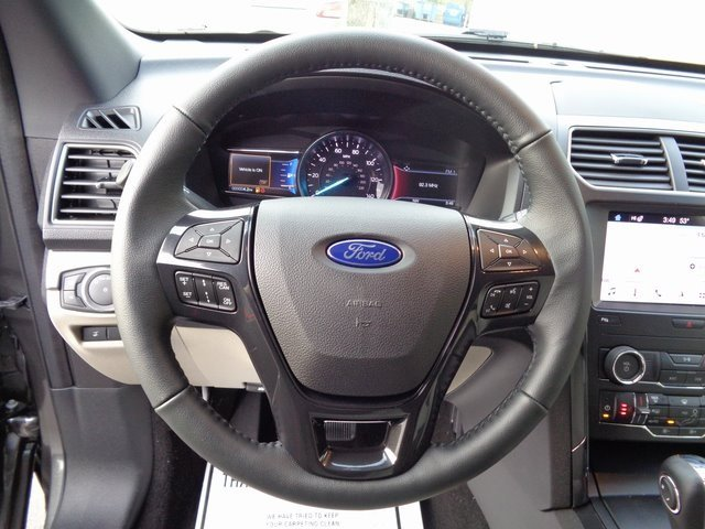 2019 Magnetic Metallic Ford Explorer XLT 3.5L V6 Ti-VCT Engine 4 Door SUV