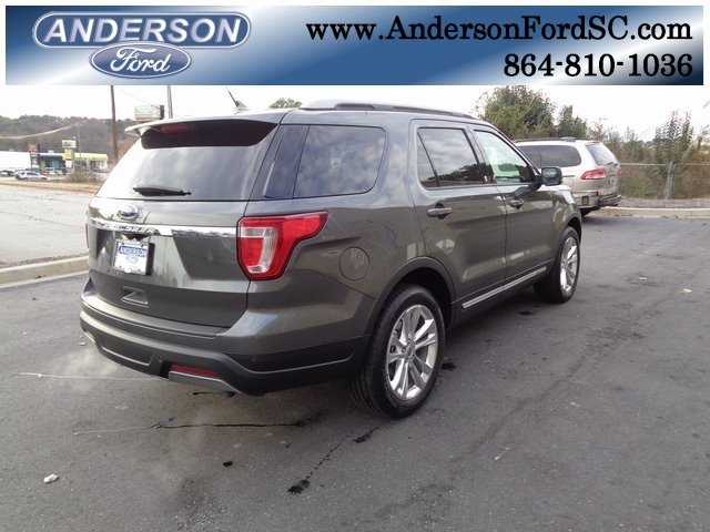 2019 Magnetic Metallic Ford Explorer XLT SUV Automatic FWD