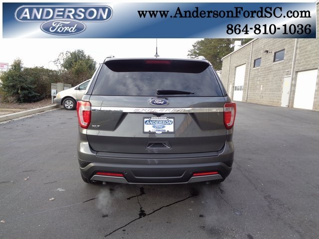 2019 Magnetic Metallic Ford Explorer XLT SUV 4 Door 3.5L V6 Ti-VCT Engine
