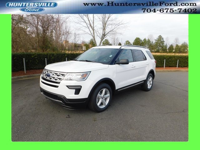 2019 Oxford White Ford Explorer XLT SUV FWD 4 Door Automatic 3.5L V6 Ti-VCT Engine