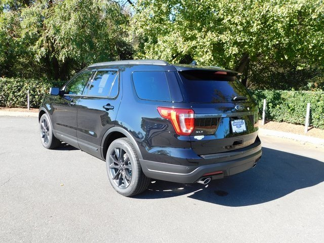 2019 Agate Black Metallic Ford Explorer XLT Automatic SUV FWD 4 Door