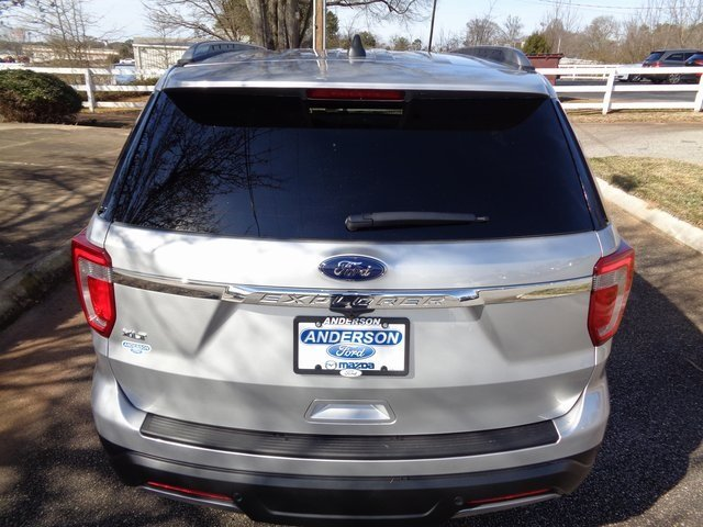2019 Ingot Silver Metallic Ford Explorer XLT Automatic FWD SUV 3.5L V6 Ti-VCT Engine