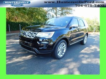 2019 Agate Black Metallic Ford Explorer XLT SUV 3.5L V6 Ti-VCT Engine FWD