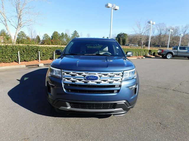 2019 Ford Explorer XLT 4 Door SUV FWD 3.5L V6 Ti-VCT Engine