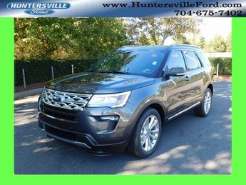 2019 Magnetic Metallic Ford Explorer XLT 3.5L V6 Ti-VCT Engine FWD Automatic