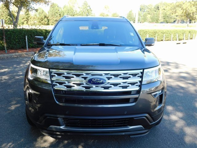 2019 Magnetic Metallic Ford Explorer XLT SUV 4 Door Automatic FWD
