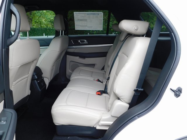 2019 White Ford Explorer XLT Automatic 4 Door 3.5L V6 Ti-VCT Engine