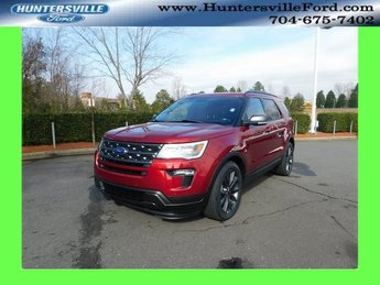 2019 Ruby Red Metallic Tinted Clearcoat Ford Explorer XLT 4 Door FWD Automatic SUV 3.5L V6 Ti-VCT Engine