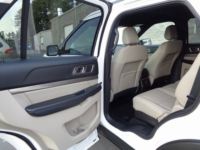 2019 White Metallic Ford Explorer XLT FWD 4 Door 3.5L V6 Ti-VCT Engine SUV