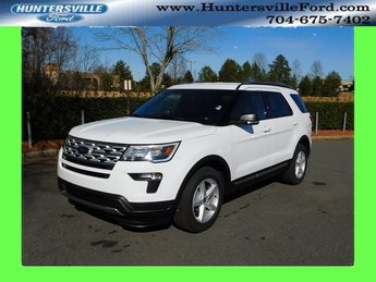2019 Oxford White Ford Explorer XLT SUV 4 Door FWD Automatic 3.5L V6 Ti-VCT Engine