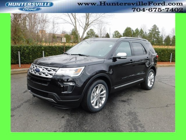 2019 Agate Black Metallic Ford Explorer XLT SUV 3.5L V6 Ti-VCT Engine Automatic FWD 4 Door