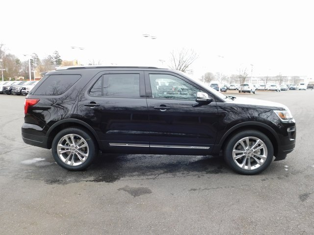 2019 Agate Black Metallic Ford Explorer XLT 3.5L V6 Ti-VCT Engine 4 Door Automatic