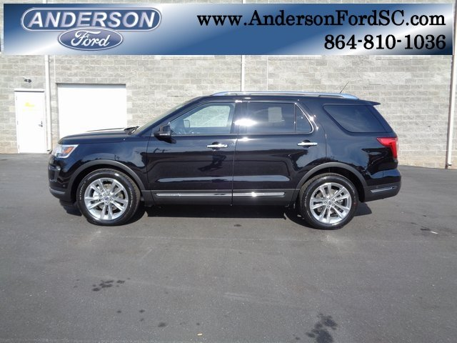 2019 Ford Explorer Limited SUV FWD Automatic 3.5L V6 Ti-VCT Engine 4 Door