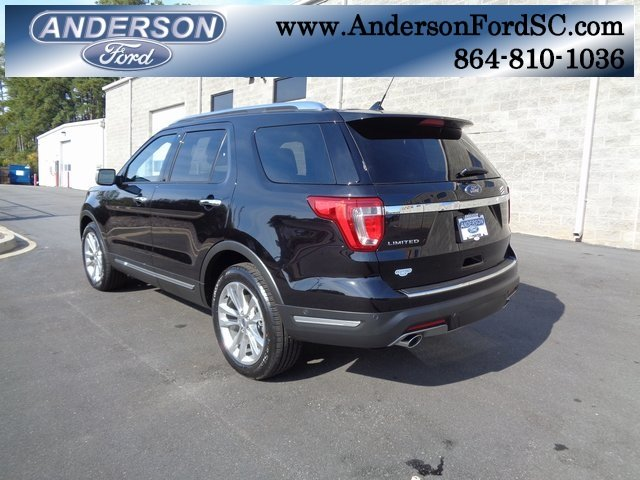 2019 Ford Explorer Limited 3.5L V6 Ti-VCT Engine Automatic SUV FWD 4 Door
