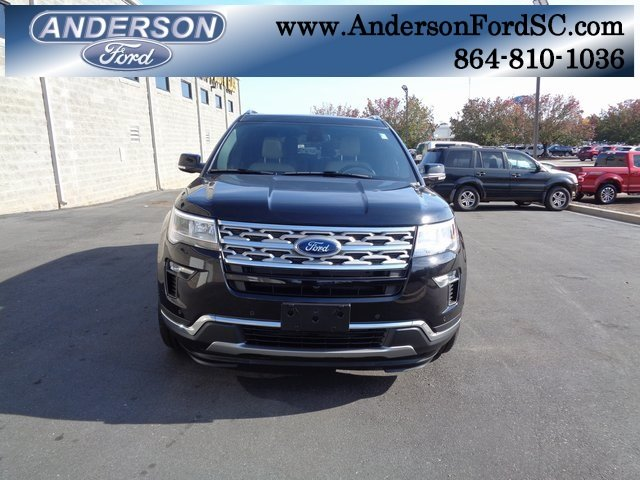 2019 Agate Black Metallic Ford Explorer Limited 3.5L V6 Ti-VCT Engine 4 Door Automatic