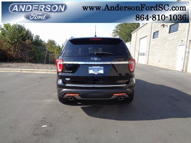 2019 Agate Black Metallic Ford Explorer Limited Automatic SUV 4 Door FWD