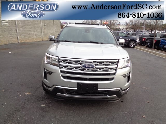2018 Ford Explorer Limited SUV Automatic FWD 4 Door