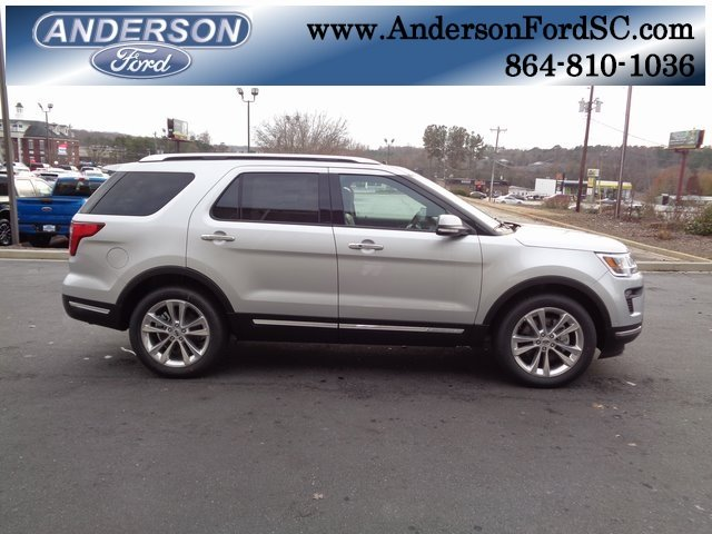 2018 Ford Explorer Limited 2.3L I4 Engine 4 Door FWD Automatic