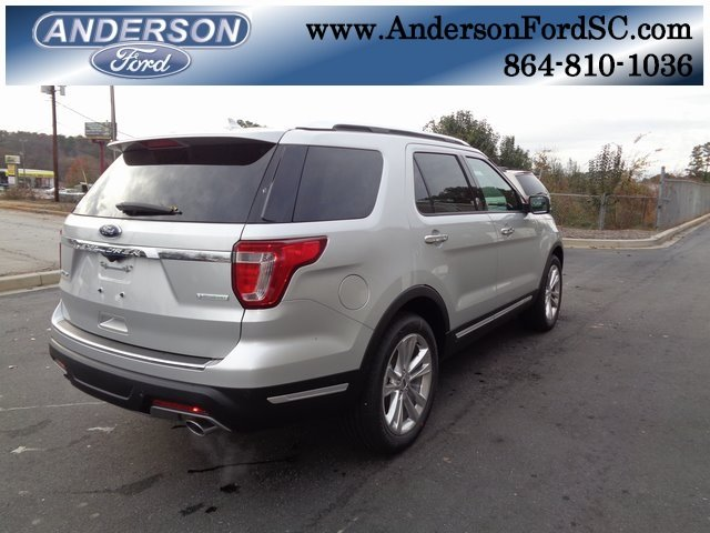 2018 Ford Explorer Limited 4 Door SUV 2.3L I4 Engine Automatic FWD