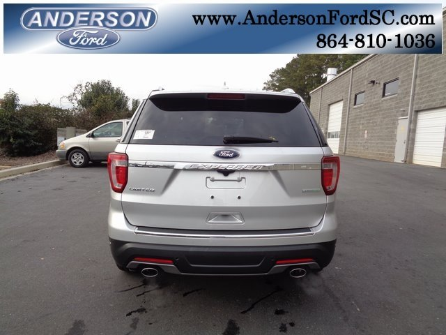 2018 Ingot Silver Metallic Ford Explorer Limited SUV 4 Door FWD Automatic 2.3L I4 Engine