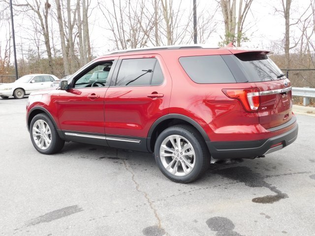 2019 Ruby Red Metallic Tinted Clearcoat Ford Explorer XLT Automatic 4 Door 4X4 SUV