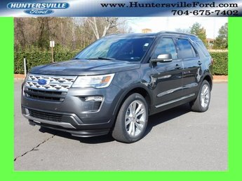 2019 Magnetic Metallic Ford Explorer XLT 3.5L V6 Ti-VCT Engine 4X4 SUV Automatic