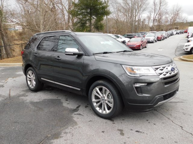 2019 Magnetic Metallic Ford Explorer XLT 3.5L V6 Ti-VCT Engine SUV 4 Door Automatic 4X4