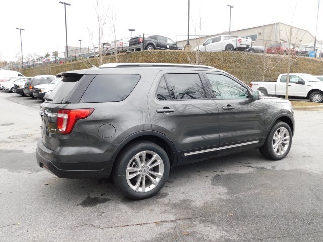 2019 Magnetic Metallic Ford Explorer XLT SUV 4X4 3.5L V6 Ti-VCT Engine 4 Door Automatic