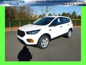 2019 Oxford White Ford Escape S 4 Door SUV FWD 2.5L iVCT Engine Automatic