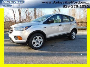 2019 Ingot Silver Metallic Ford Escape S SUV FWD 2.5L iVCT Engine