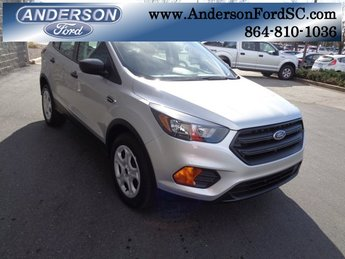 2019 Ingot Silver Metallic Ford Escape S FWD Automatic 2.5L iVCT Engine 4 Door SUV