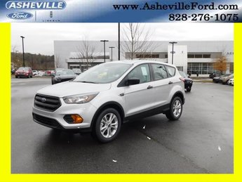 2019 Ingot Silver Metallic Ford Escape S 4 Door 2.5L iVCT Engine FWD