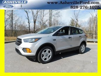 2019 Ingot Silver Metallic Ford Escape S FWD 2.5L iVCT Engine Automatic 4 Door