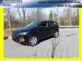 2019 Agate Black Metallic Ford Escape S SUV 4 Door Automatic 2.5L iVCT Engine FWD