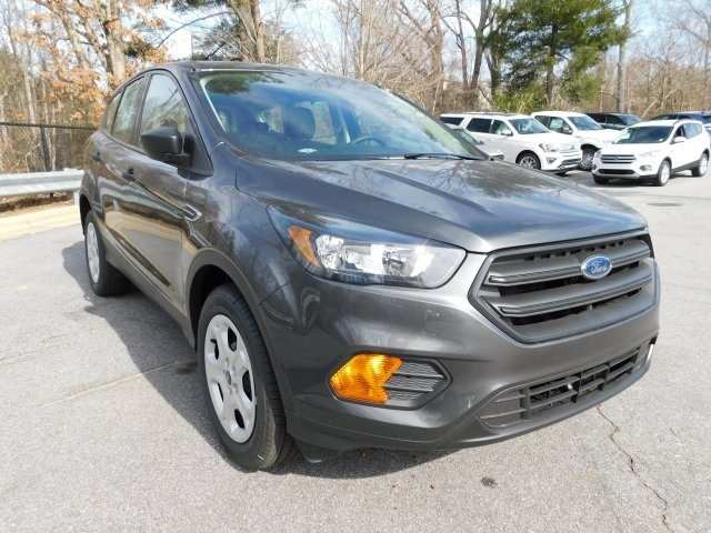 2019 Magnetic Metallic Ford Escape S FWD 2.5L iVCT Engine Automatic
