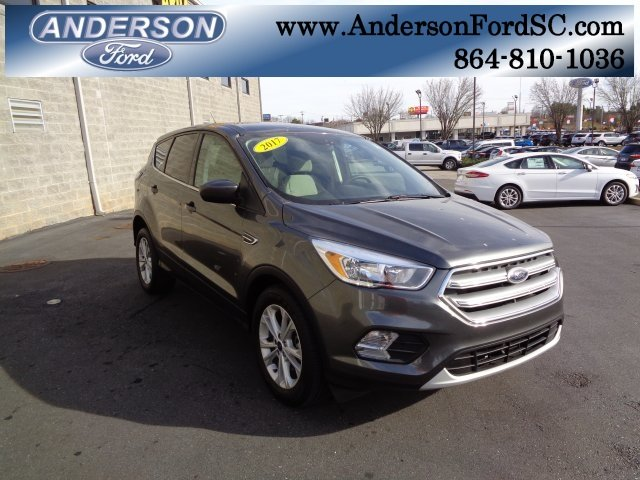 2017 Magnetic Metallic Ford Escape SE EcoBoost 2.0L I4 GTDi DOHC Turbocharged VCT Engine Automatic 4 Door