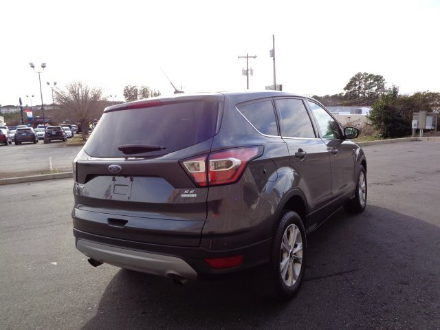 2017 Ford Escape SE FWD SUV EcoBoost 2.0L I4 GTDi DOHC Turbocharged VCT Engine Automatic 4 Door