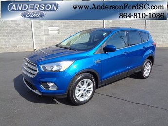 2019 Lightning Blue Metallic Ford Escape SE SUV 4 Door FWD EcoBoost 1.5L I4 GTDi DOHC Turbocharged VCT Engine