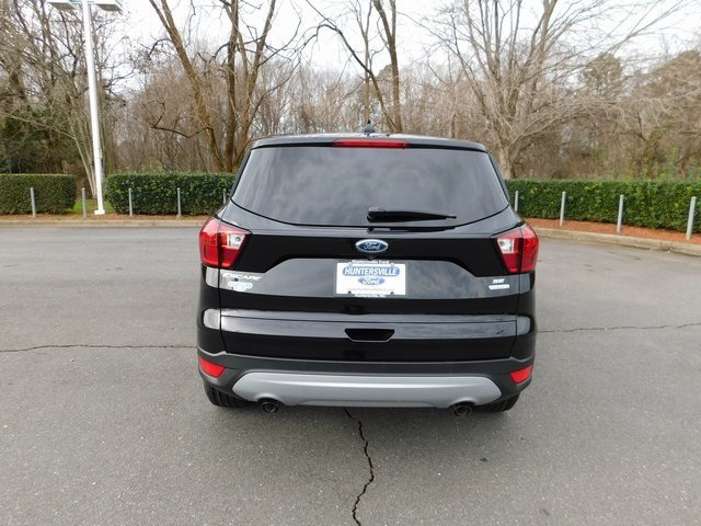 2019 Agate Black Metallic Ford Escape SE Automatic SUV FWD EcoBoost 1.5L I4 GTDi DOHC Turbocharged VCT Engine 4 Door