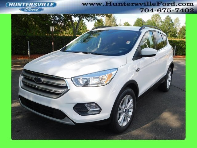 2018 Oxford White Ford Escape SE 4 Door Automatic SUV EcoBoost 1.5L I4 GTDi DOHC Turbocharged VCT Engine