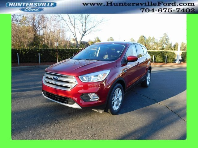2019 Ruby Red Metallic Tinted Clearcoat Ford Escape SE FWD 4 Door EcoBoost 1.5L I4 GTDi DOHC Turbocharged VCT Engine SUV Automatic