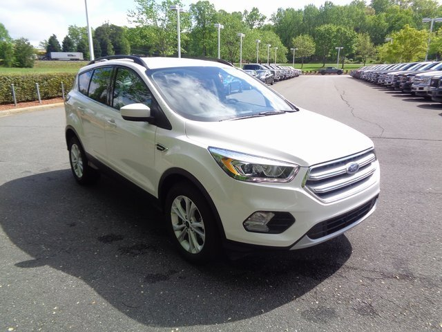 2018 Ford Escape SEL EcoBoost 1.5L I4 GTDi DOHC Turbocharged VCT Engine SUV FWD 4 Door