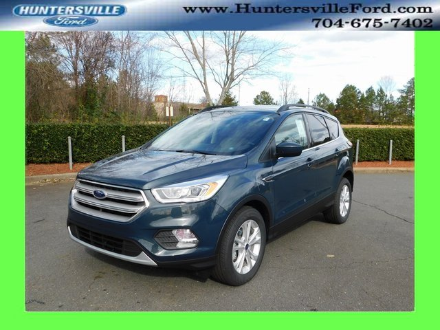 2019 Baltic Sea Green Metallic Ford Escape SEL EcoBoost 1.5L I4 GTDi DOHC Turbocharged VCT Engine Automatic FWD SUV 4 Door