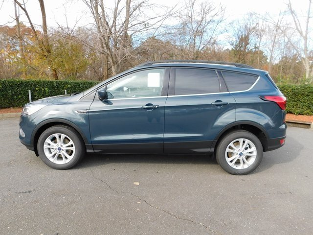 2019 Baltic Sea Green Metallic Ford Escape SEL Automatic FWD SUV EcoBoost 1.5L I4 GTDi DOHC Turbocharged VCT Engine