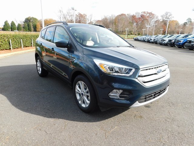 2019 Ford Escape SEL 4 Door Automatic EcoBoost 1.5L I4 GTDi DOHC Turbocharged VCT Engine FWD