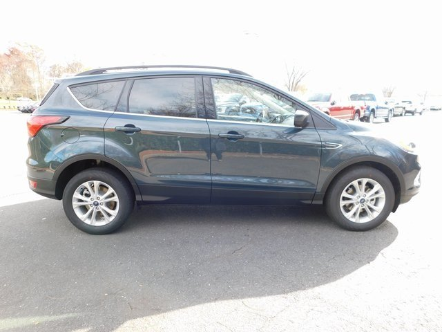 2019 Baltic Sea Green Metallic Ford Escape SEL FWD EcoBoost 1.5L I4 GTDi DOHC Turbocharged VCT Engine 4 Door Automatic SUV