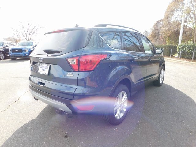 2019 Baltic Sea Green Metallic Ford Escape SEL FWD EcoBoost 1.5L I4 GTDi DOHC Turbocharged VCT Engine 4 Door