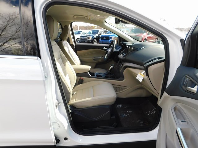 2019 Oxford White Ford Escape SEL Automatic EcoBoost 1.5L I4 GTDi DOHC Turbocharged VCT Engine 4 Door FWD SUV