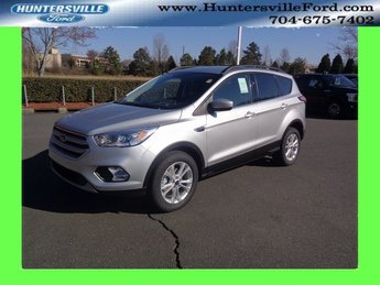 2018 Ingot Silver Metallic Ford Escape SEL EcoBoost 1.5L I4 GTDi DOHC Turbocharged VCT Engine SUV 4 Door Automatic FWD