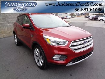 2019 Ford Escape Titanium EcoBoost 2.0L I4 GTDi DOHC Turbocharged VCT Engine FWD Automatic 4 Door